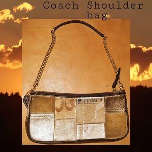 Coach Shoulder Bag | Tan | Women's
